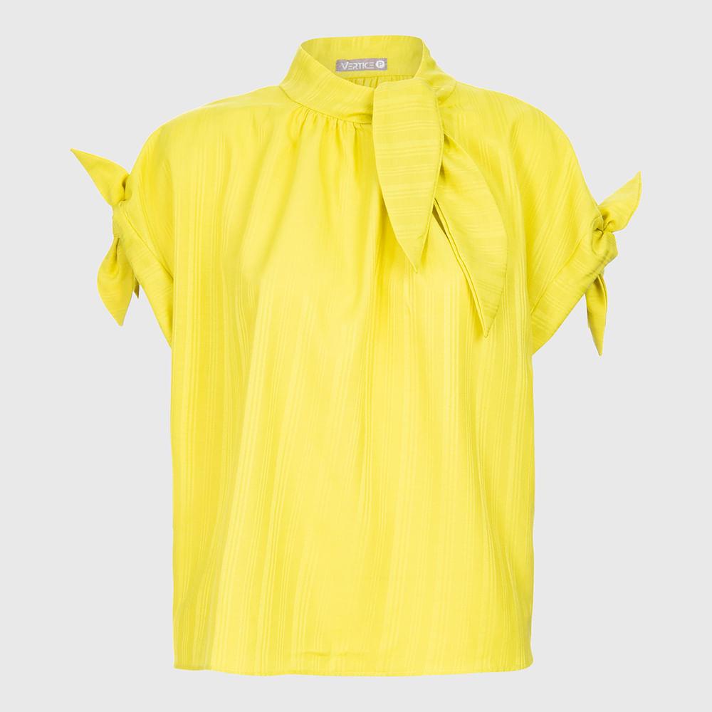 Blusa Gola Laço - Amarela