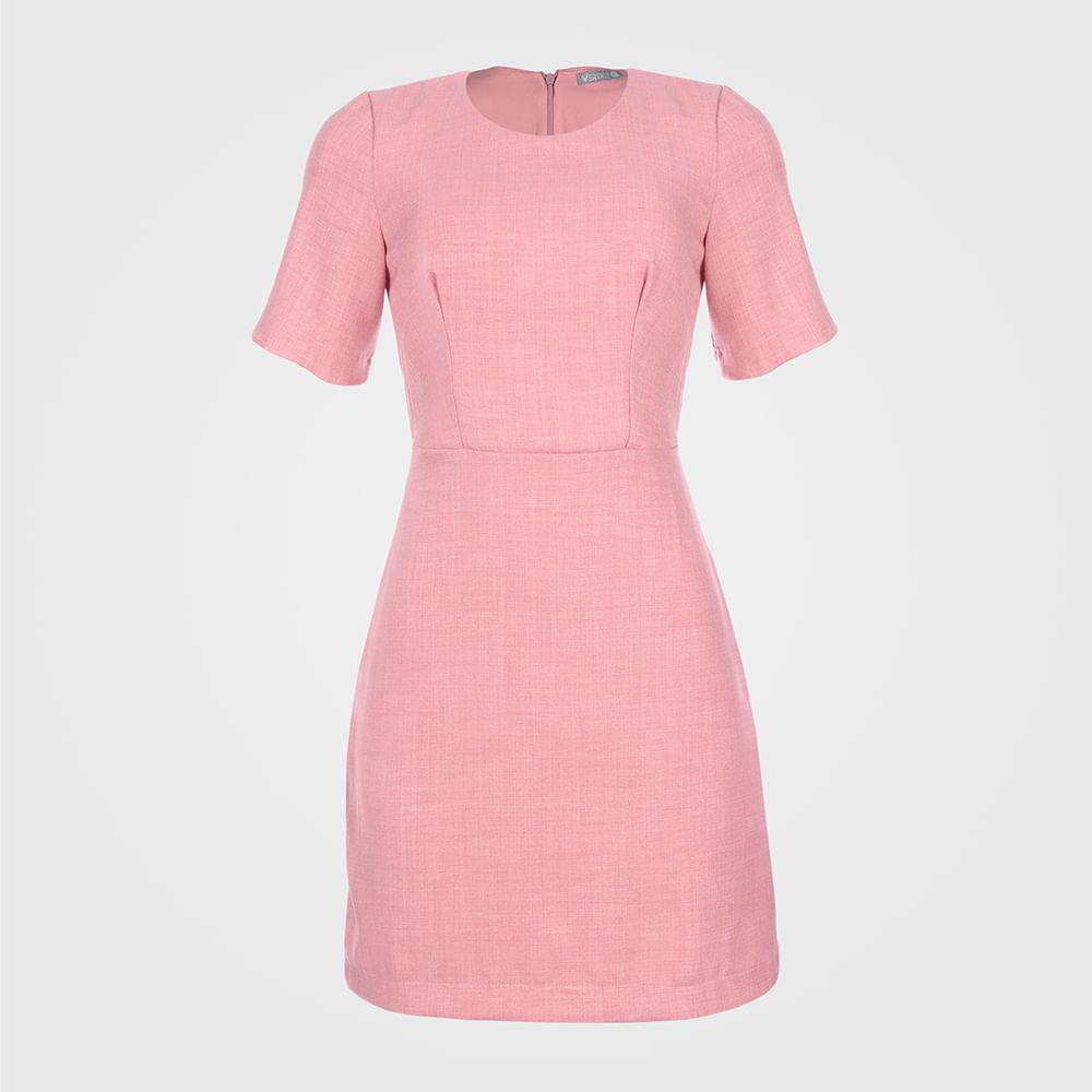 Vestido Feminino Chanel - Rosé